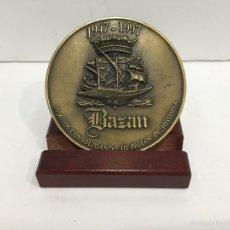Trofeos y medallas: MEDALLA 50 ANIVERSARIO BAZAN. Lote 97760290