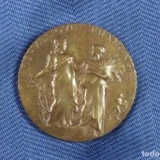 Trofeos y medallas: MEDALLA AGRICULTURA. REPÚBLICA FRANCESA. ALPHÉE DUBOIS.. Lote 97776195