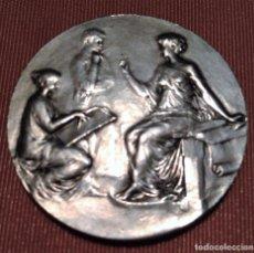 Trofeos y medallas: MEDALLA DE PLATA CONCEDIDA A MARCEL GUILLARD EN 1914. Lote 98487087
