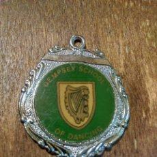 Trofeos y medallas: ANTIGUA MEDALLA DEMPSEY SCHOOL OF DANCING. Lote 98820256