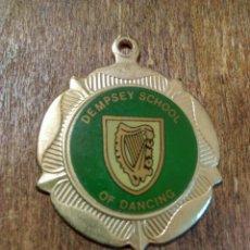 Trofeos y medallas: ANTIGUA MEDALLA DEMPSEY SCHOOL OF DANCING. Lote 98820288