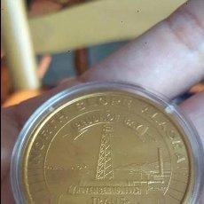 Trofeos y medallas: MEDALLA CONMEMORATIVA DEL TRANS PIPELINE ALASKA, 1973. Lote 99090931