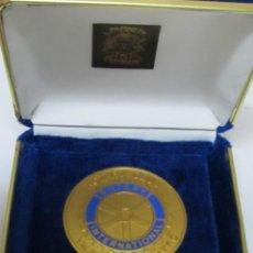 Trofeos y medallas: MEDALLA DEL ROTARY CLUB VALENCIA. Lote 99805643