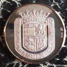 Trofeos y medallas: MEDALLA PLATA 125 ANIVERSARIO IBERCAJA. Lote 100648727