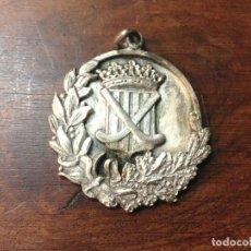 Trofeos y medallas: MEDALLA DE METAL PLATEADO. TEMÁTICA DEPORTIVA. ESPAÑA. 1953. Lote 101060423