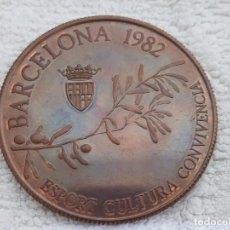 Trofeos y medallas: MEDALLA AJUNTAMENT BARCELONA 1982. Lote 101238407