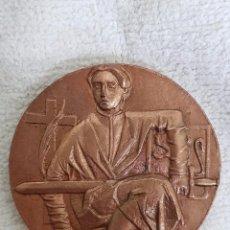 Trofeos y medallas: MEDALLA SERIE CIUDADES. ZARAGOZA. AÑO 1964. Lote 101238467