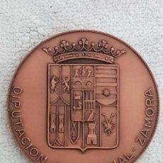 Trofeos y medallas: MEDALLA INAUGURACIÓN DIPUTACIÓN PROVINCIAL DE ZAMORA. AÑO 1983. Lote 101238683