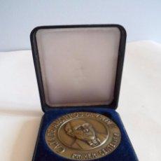 Trofeos y medallas: MEDALLA PRIMER CENTENARIO CAJA DE AHORROS DE CADIZ. BRONCE. Lote 101370751
