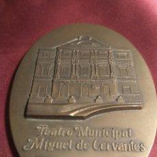Trofeos y medallas: MEDALLA TEATRO CERVANTES. Lote 102523826