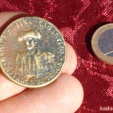 Trofeos y medallas: VIEJA MEDALLA RECUERDO DE LA CORRIDA DE BENEFICENCIA RAFAEL MOLINA LA GARTIJO- MADRIS JUNIO 1891. Lote 102651643