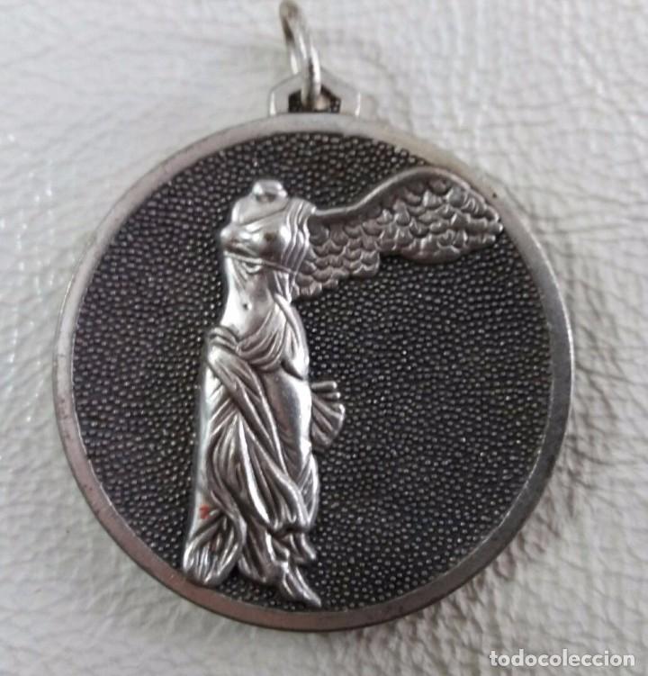 MEDALLA I VUELTA AEREA MADRID MAYO 1983 (Numismática - Medallería - Trofeos y Conmemorativas)