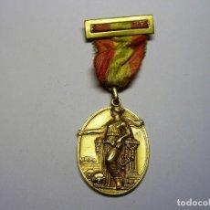 Trofeos y medallas: MEDALLA ESCOLAR, BARCELONA, ACADEMIA CONDAL, AÑO 1945.. Lote 103322631