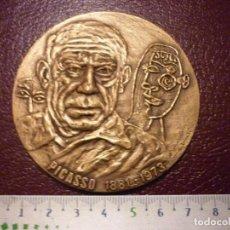 Trofeos y medallas: MEDALLA PABLO PICASSO 1881-1973 - CUADRO EL GUERNICA 1937. Lote 103753531