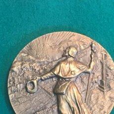 Trofeos y medallas: VE15- GRAN MEDALLA DE BRONCE POR -JOSE MARIA ACUÑA - SANTIAGO APOSTOL DE GALICIA. Lote 103753827