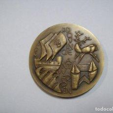Trofeos y medallas: MEDALLA ANTIGUA DE BRONCE CONMEMORATIVA AMBERES. Lote 104079103