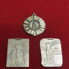 Trofeos y medallas: 3 MEDALLAS DEPORTIVAS. Lote 104967119