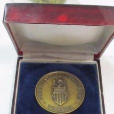 Trofeos y medallas: MEDALLA CONMEMORATIVA DE BRONCE - FERIA DEL MUEBLE DE VALENCIA (1963-1983). Lote 108074587