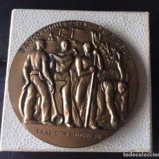 Trofeos y medallas: MEDALLA 1964 BANCO INDUSTRIAL DE BILBAO - 107 ANIVERSARIO . Lote 108759031