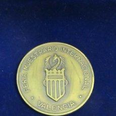 Trofeos y medallas: MEDALLA FERIA MUESTRARIO INTERNACIONAL DE VALENCIA - LXV ANIVERSARIO (1917-1982). Lote 109482643