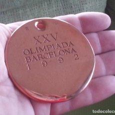 Trofeos y medallas: MEDALLA 3º CLASIFICADO-BRONCE-DEPORTE EXHIBICIÓN OLIMPIADAS BARCELONA´92 -FNMT. Lote 110026051