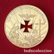 Trofeos y medallas: MONEDA ORO GERMAN 1914-1945 NUNCA TE OLVIDES DE MILLONES DE CAIDOS . Lote 110250663