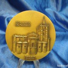 Trofeos y medallas: MEDALLA DE BRONCE LOTERIA DEL HUMOR 1994 STA MARIA DE AZOQUE BENAVENTE. Lote 110443559