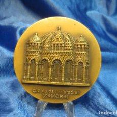 Trofeos y medallas: MEDALLA DE BRONCE DE LA LOTERIA DEL HUMOR CATEDRAL DE ZAMORA. Lote 110444151