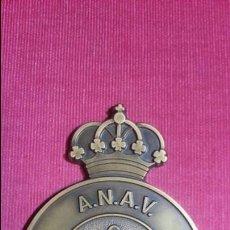 Trofeos y medallas: EXCEPCIONAL PLACA DE BRONCE DE PROTECCIÓN CIVIL. ANAV. DIFICILISIMA. Lote 110936107