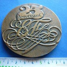 Trofeos y medallas: GRAN MEDALLA 25 ANIVERSARIO ASNEF 1957/1982. Lote 111929739