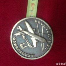 Trofeos y medallas: INAUGURACIÓN AEROPUERTO DE SANTANDER. Lote 112238179