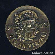 Trofeos y medallas: MEDALLA DEL 75 ANIVERSARI DE L' ORFEO DE SABADELL. MUSICA. Lote 112760331