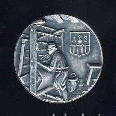 Trofeos y medallas: MEDALLA DEL 150 ANIVERSARI DE L'EMPRESA GORINA S.A. DE SABADELL. Lote 112760407