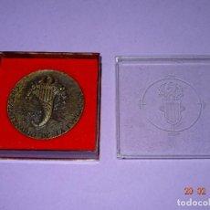 Trofeos y medallas: ANTIGUA MEDALLA FERIA MUESTRARIO INTERNACIONAL DE VALENCIA 50 ANIVERSARIO 1917-1967. Lote 113117667