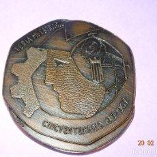 Trofeos y medallas: ANTIGUA MEDALLA FERIA MUESTRARIO INTERNACIONAL DE VALENCIA - CINCUENTENARIO 1917-1967. Lote 113120039