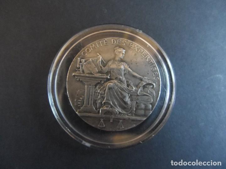 MEDALLA MINISTERE DE COMMERCE ET DE INDUSTRIE. DE PLATA . FRANCIA. LOI DU 27 JUILLET 1822 (Numismática - Medallería - Trofeos y Conmemorativas)