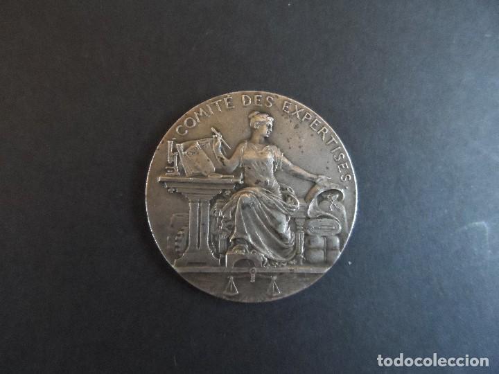 Trofeos y medallas: MEDALLA MINISTERE DE COMMERCE ET DE INDUSTRIE. DE PLATA . FRANCIA. LOI DU 27 JUILLET 1822 - Foto 2 - 113590891