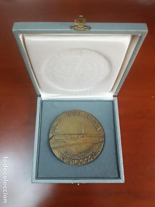 MEDALLA ULTRA METAM EUROPA - GUADALAJARA - 1986 - TELEFONICA - CAT. ORO (Numismática - Medallería - Trofeos y Conmemorativas)