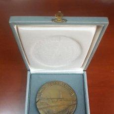 Trofeos y medallas: MEDALLA ULTRA METAM EUROPA - GUADALAJARA - 1986 - TELEFONICA - CAT. ORO. Lote 114880247