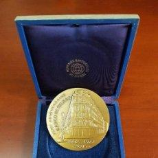 Trofeos y medallas: MEDALLA 75EME ANNIVERSAIRE BANCO DE BILBAO - 1902 1977 - PARIS - BB - CAT. ORO. Lote 114880391