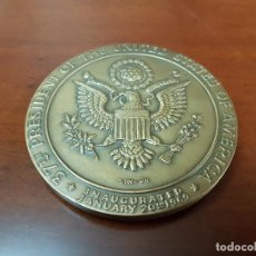 Trofeos y medallas: MEDALLA 37TH PRESIDENT OF THE UNITED STATES OF AMERICA - RICHARD NIXON - JANUARY 20TH 1969 - . Lote 114887243