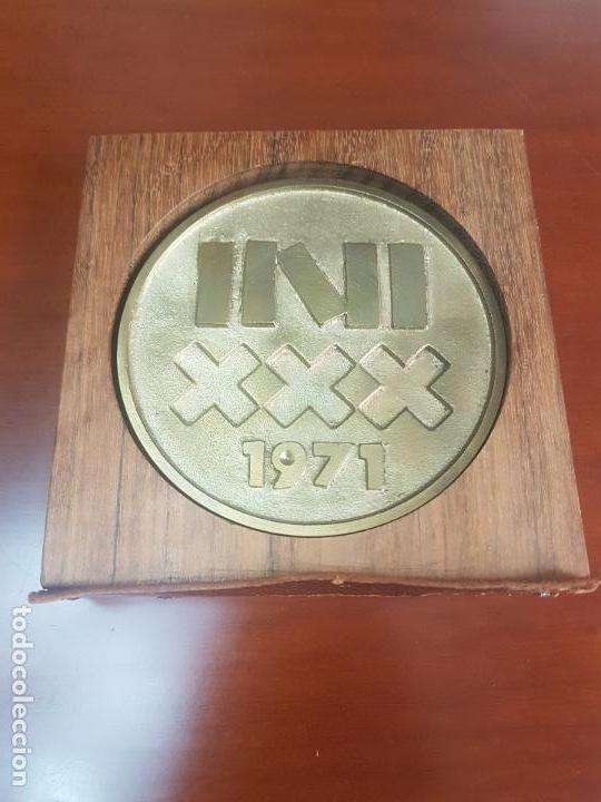 MEDALLA INSTITUTO NACIONAL DE INDUSTRIA - INI - 30 ANIVERSARIO - 1941 1971 - CAT. ORO (Numismática - Medallería - Trofeos y Conmemorativas)