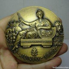 Trofeos y medallas: MEDALLON O MEDALLA CONMEMORATIVA. BICENTENARIO DEL BANCO DE ESPAÑA. B. NACIONAL S.CARLOS. 1782-1982. Lote 115072155