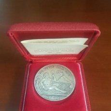 Trofeos y medallas: MEDALLA CELEBRATIVA DEL TRENTENNALE DELLA SME SOCIETA MERIDIONALE FINANZIARIA 1963 1993 - PLATA 800. Lote 115077339