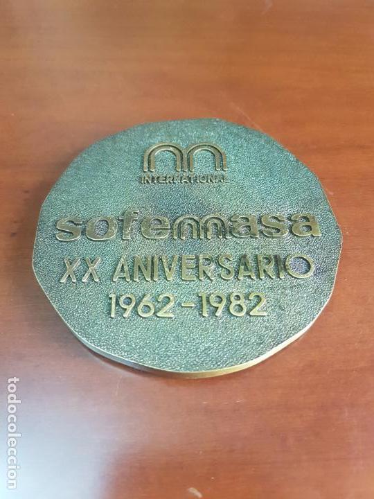 MEDALLA SOFEMASA INTERNACIONAL XX ANIVERSARIO 1962 1982 - BRONCE (Numismática - Medallería - Trofeos y Conmemorativas)