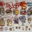 Trofeos y medallas: COLECCIÓN DE 21 MEDALLAS Y PINS DEL CARNAVAL ALEMÁN. Lote 75421970