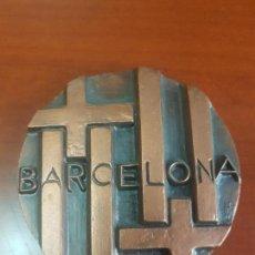 Trofeos y medallas: MEDALLA BARCELONA - SUBIRACHS - ALEGORÍA DE LA CIUDAD - FNMT - CAT. BRONCE. Lote 115462539