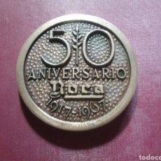 Trofeos y medallas: MEDALLA 50 ANIVERSARIO DE ROCA, 1917/1967.(SIN PEANA).. Lote 115584900