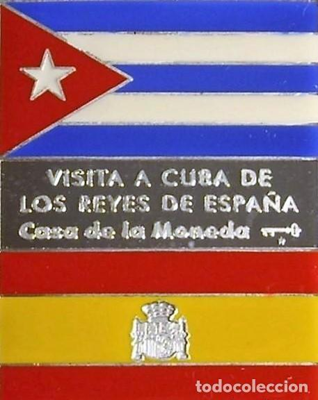 CUBA MEDALLA PLATA-VISITA A CUBA DE LOS REYES DE ESPAÑA 1999-CASA DE LA MONEDA DE CUBA (Numismática - Medallería - Trofeos y Conmemorativas)