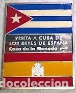 Trofeos y medallas: CUBA MEDALLA PLATA-VISITA A CUBA DE LOS REYES DE ESPAÑA 1999-CASA DE LA MONEDA DE CUBA - Foto 3 - 195150040